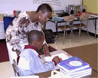 Bridget Hancock & student