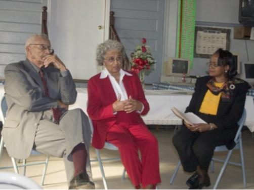 Thomas & Gwendolyn Hodges with Glenda Harris